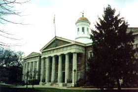 [photo, Old Courthouse, 400 Washington St., Towson, Maryland]