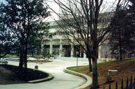 [photo, County Courts Building, 401 Bosley Ave. (view from Pennsylvania Ave.), Towson, Maryland]