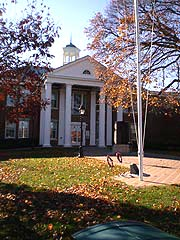 [photo, Calvert County Courthouse, Prince Frederick, Maryland]