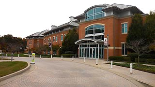 [photo, John E. Harms Academic Center, Prince Frederick campus, College of Southern Maryland, Prince Frederick, Maryland]