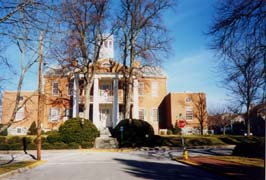 [photo, Carroll County Historic Courthouse, Courthouse Square, 200 Willis St., Westminster, Maryland]