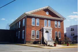 [photo, Cecil County Department of Aging, Buckworth Senior Center, 214 North St., Elkton, Maryland]