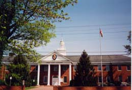 [photo, Charles County Courthouse, 200 Charles St., La Plata, Maryland]