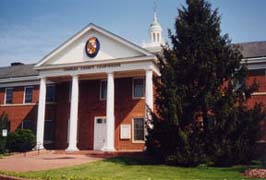 [photo, Charles County Courthouse, La Plata, Maryland]
