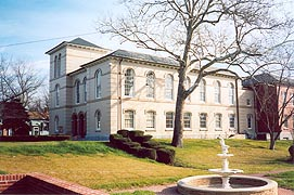 [photo, Dorchester County Courthouse, 206 High St., Cambridge, Maryland]