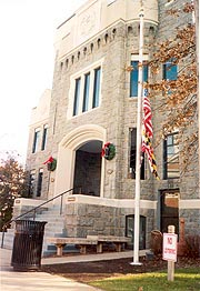 [photo, District Court, 310 Gay St., Cambridge, Maryland]