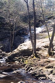 [photo, Cunningham Falls, Cunningham Falls State Park, Thurmont (Frederick County), Maryland]