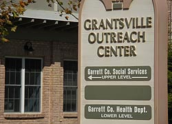 [photo, Grantsville Outreach Center (Garrett County Dept. of Social Services & Health Dept.), Grantsville, Maryland]