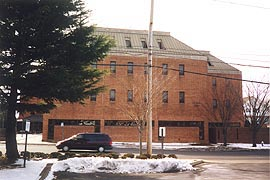 [photo, District Court Building, Mary E. W. Risteau Multi-Service Center, 2 South Bond St., Bel Air, Maryland]