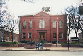 [photo, Harford County Courthouse, 20 West Courtland St., Bel Air, Maryland]