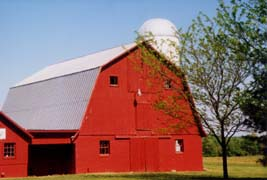 [photo, Red barn, Kent County, Maryland]