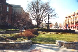 [photo, Public sculpture, Courthouse Square, Rockville (Montgomery County), Maryland]