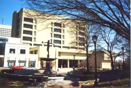 [photo, Judicial Center (from Courthouse Square), 50 Maryland Ave., Rockville, Maryland]