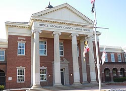 [photo, Prince George's County Courthouse, Duvall Wing, Upper Marlboro, Maryland]