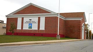 [photo, Margaret Brent Recreation Center, 29679 Point Lookout Road, Helen, Maryland]