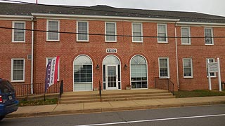 [photo, Board of Elections, 41650 Tudor Hall Road, Leonardtown, Maryland]