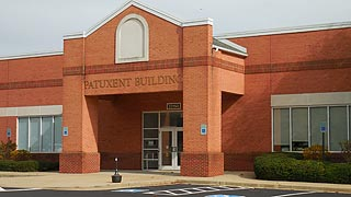 [photo, Patuxent Building, 23150 Leonard Hall Drive, Leonardtown, Maryland]
