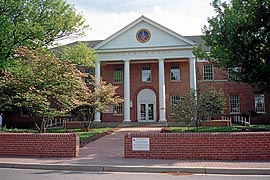 [photo, Courthouse, 41605 Courthouse Drive, Leonardtown, Maryland]