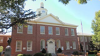 [photo, Talbot County Courthouse, 11 North Washington St., Easton, Maryland]