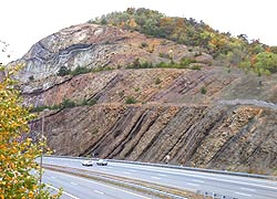[photo, Sideling Hill, west of Hancock, Washington County, Maryland]