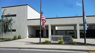 [photo, Wicomico County Detention Center, 411 Naylor Mill Road, Salisbury, Maryland]