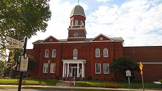 [photo, Worcester County Courthouse, One West Market St., Snow Hill, Maryland]