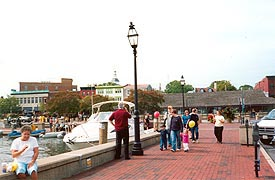 [photo, City Dock, Annapolis, Maryland]
