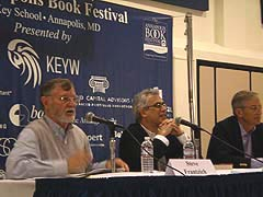 [photo, Annapolis Book Festival, Election 2012 Panel, Annapolis, Maryland]