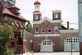 [photo, Historic Waterwitch Firehouse, East St., Annapolis, Maryland]