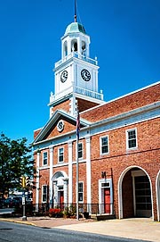[photo, Old City Hall, 307 Gay St., Cambridge, Maryland]