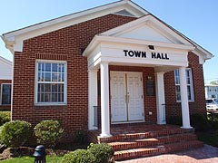 [photo, Town Hall, Chesapeake Beach, Maryland]