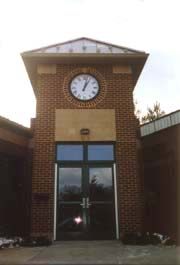 [photo, Town Office entrance, 4301 Willow Lane, Chevy Chase, Maryland]