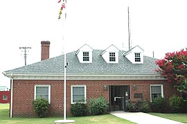 [City Hall, 319 West Main St., Crisfield, Maryland]