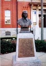 [photo, Bust of Thomas Johnson, City Hall, Frederick, Maryland]