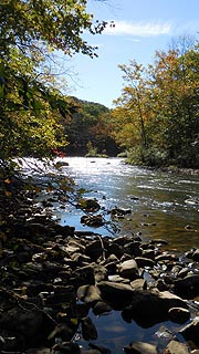 [photo, Youghiogheny River, Friendsville, Maryland]