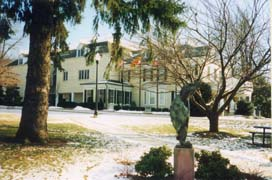 [photo, City Hall (tortoise sculpture in foreground), 31 South Summit Ave., Gaithersburg, Maryland]
