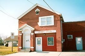 [photo, Town Hall, 505 Old Town Road, Goldsboro, Maryland]