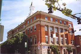 [photo, City Hall, 1 East Franklin St., Hagerstown, Maryland]