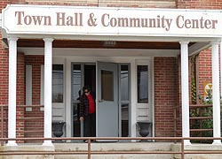 [Town Hall and Community Center, 126 West High St., Hancock, Maryland]