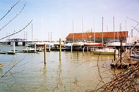 [photo, Boat house on Susquehanna River, Havre de Grace, Maryland]