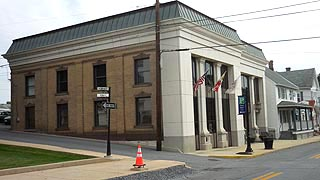 [photo, Municipal Center, 31 West Main St., Middletown, Maryland]