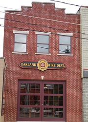[photo, Oakland Volunteer Fire Department, 31 South 3rd St., Oakland, Maryland]