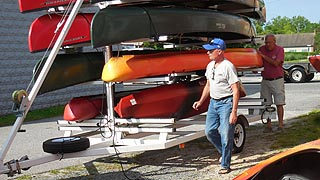 [photo, Kayaks, Snow Hill, Maryland]