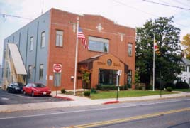 [photo, Town Hall, 21 West Frederick St., Walkersville, Maryland]