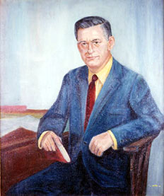 Portrait of C. Ferdinand Sybert by Mary McClaren