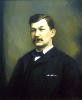Portrait of Henry Lloyd by Fred W. Wright