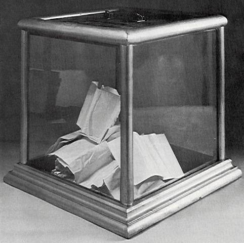 Ballot Box c. 1900