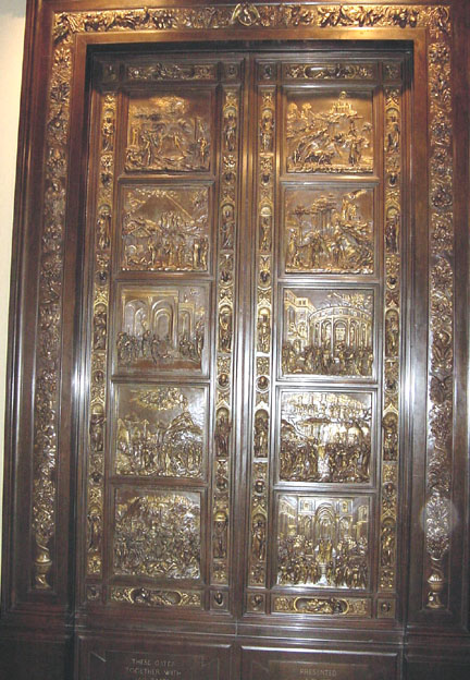 Copy of East Doors of Florence Cathedral by Barbienne