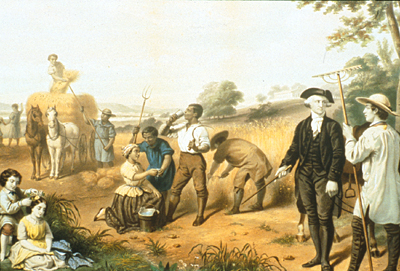 george washingtons view on slavery in america Story of woman fleeing slavery at george washington's philly house  maid of  martha washington, wife to first american president george,.