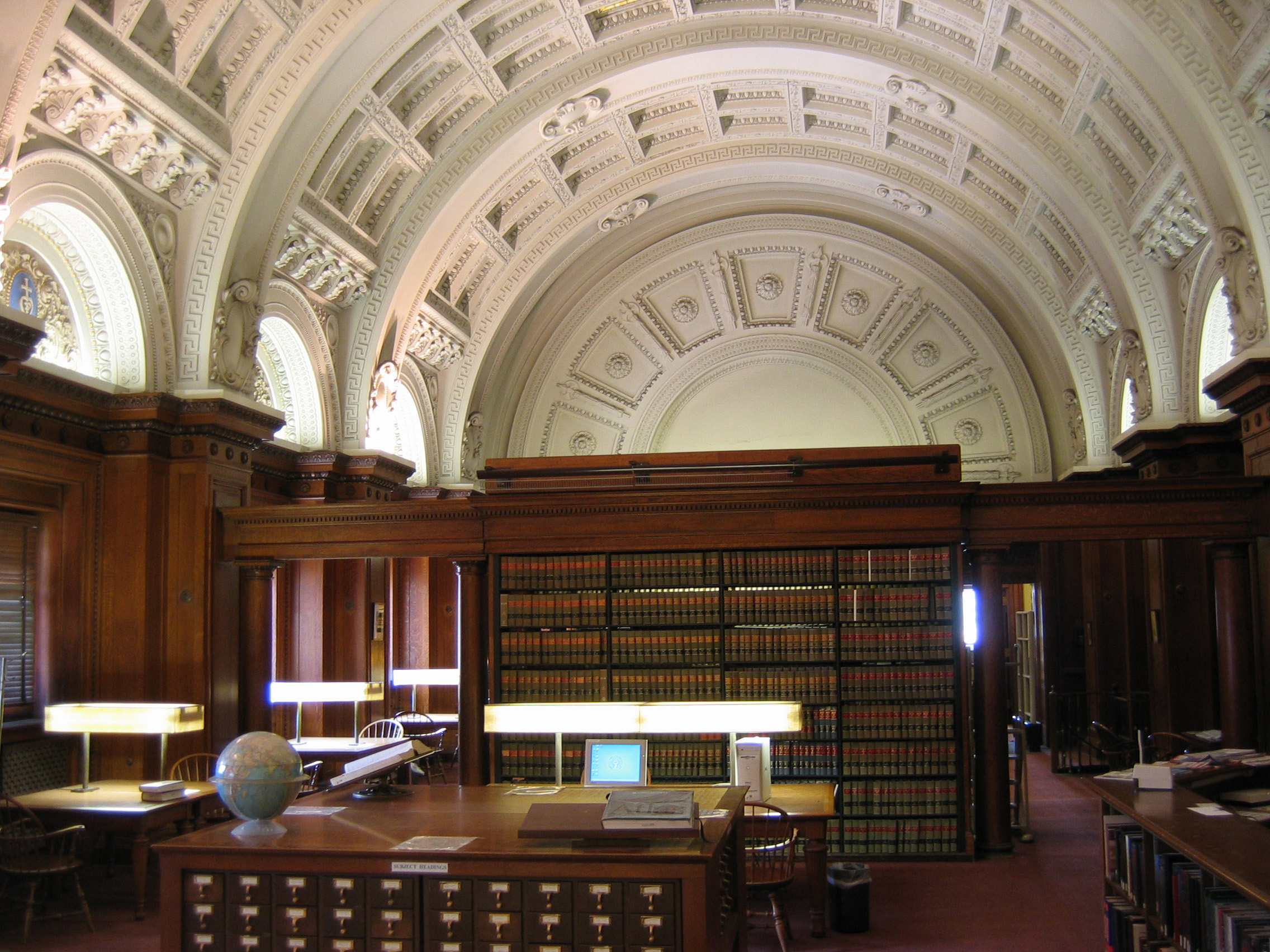 Interior Of Baltimore Bar Library